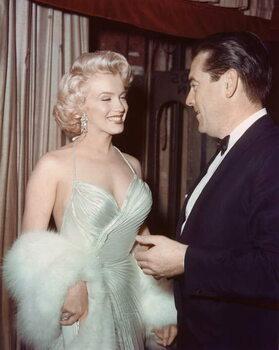 Fine Art Print MARILYN MONROE, 1953 California USA Hollywood Party, 1953