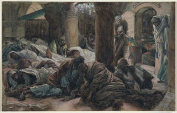 Fine Art Print Mary Magdalene Runs and Tells the Disciples that the Body of Christ is No Longer in the Tomb