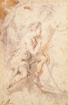 Taidejuliste Mercury and a Shepherd