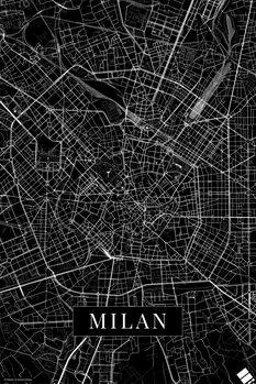 Kartta Milan black