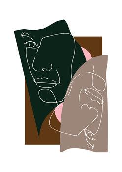 Illustration Modern Art III