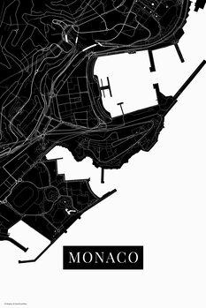 Kartta Monaco black