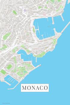 Kartta Monaco color