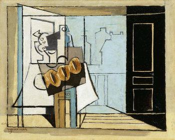 Fine Art Print Monday, the Open Window; Lundi, la Fenetre Ouverte