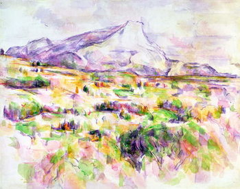 Fine Art Print Mont Sainte-Victoire from Les Lauves, 1902-06
