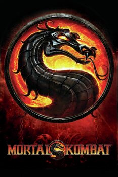 Art Poster Mortal Kombat - Dragon