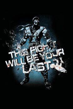 Poster Mortal Kombat - Fight