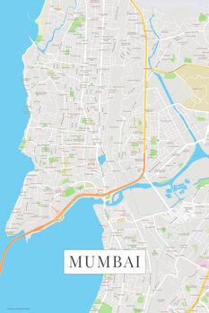 Map Mumbai color