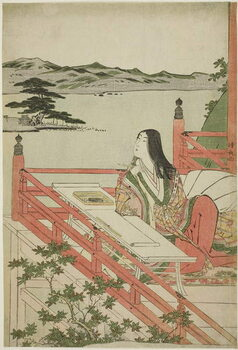 Fine Art Print Murasaki Shikibu, 1779–1789
