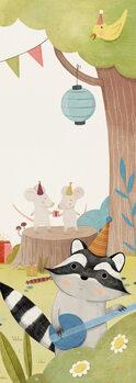 Illustration Musical Animals