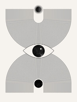 Illustration Mystical eye