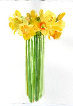 Fine Art Print Narcissus bunch; 2014;