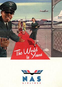 Illustration Nas Airlines