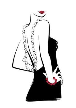 Ilustração Necklace