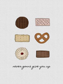 Ilustração Never Gonna Give You Up