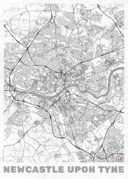 Map Newcastle Upon Tyne