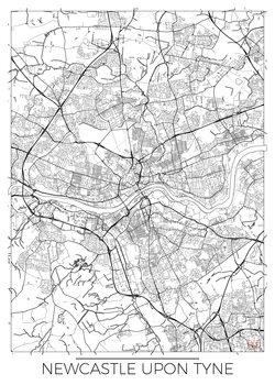 Kartta Newcastle Upon Tyne