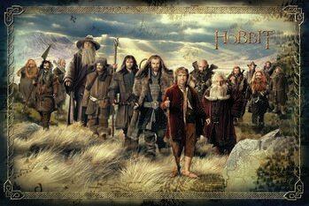 Impressão de arte O Hobbit - Uma Viagem Inesperada