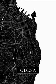 Map Odessa black