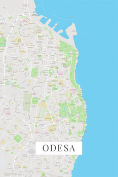 Map Odessa color