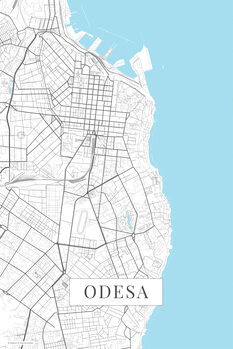 Map Odessa white