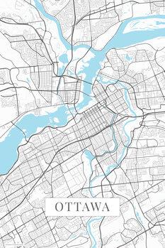 Map Ottawa white