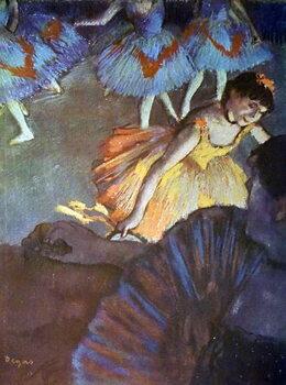 Fine Art Print Painting titled 'A Ballet Seen from an Opera Box' by Edgar Degas