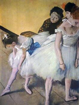 Fine Art Print Painting titled 'The Dancing Class' by Edgar Degas