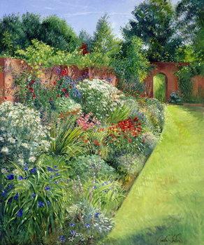 Taidejuliste Path to the Secret Garden