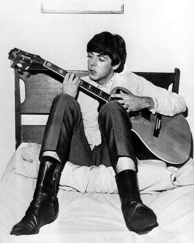Fine Art Print Paul McCartney (of The Beatles)