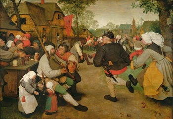 Fine Art Print Peasant Dance, 1568