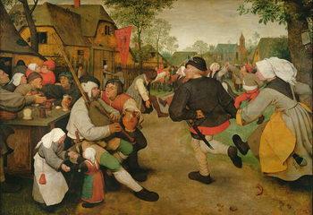 Reprodução do quadro Peasant Dance, 1568
