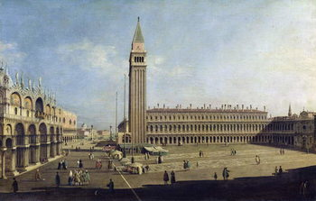 Taidejuliste Piazza San Marco, Venice