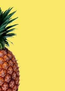 Ilustração Pinapple yellow