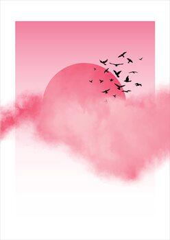Illustration Pink Sunshine