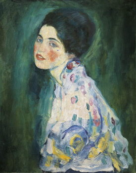 Taidejuliste Portrait of a young woman, 1916-17