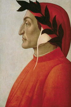 Taidejuliste Portrait of Dante