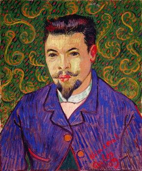 Reprodução do quadro Portrait of Dr. Felix Rey, 1889