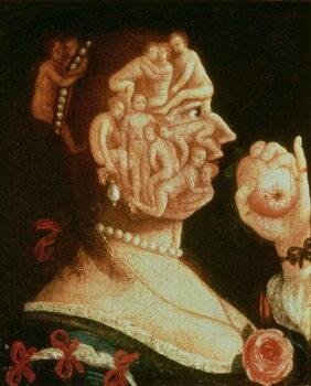 Fine Art Print Portrait of Eve