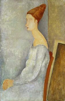 Fine Art Print Portrait of Jeanne Hebuterne