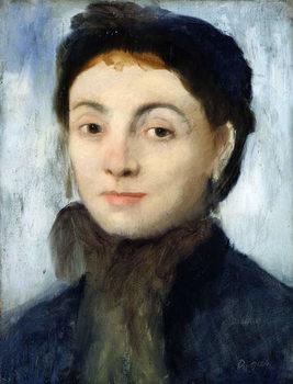 Taidejuliste Portrait of Josephine Gaujelin, 1867