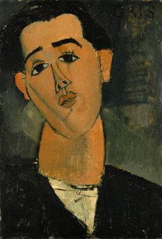 Fine Art Print Portrait of Juan Gris (1887-1927) 1915