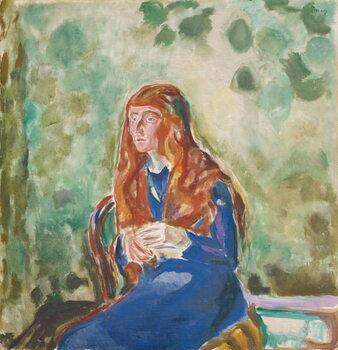 Taidejuliste Portrait of Käte Perls