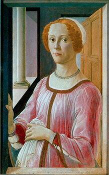 Fine Art Print Portrait of Smeralda Bandinelli Detrempe
