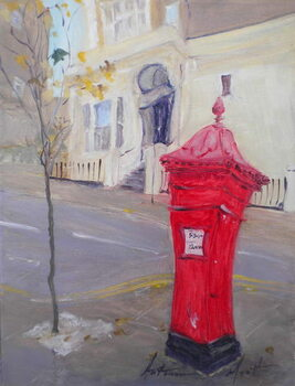 Fine Art Print Post Box
