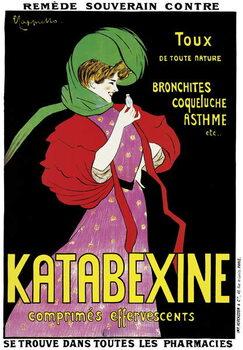Fine Art Print Poster advertising 'Katabexine' medicines