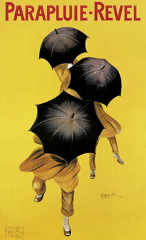 Fine Art Print Poster advertising 'Revel' umbrellas, 1922