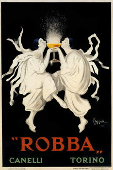 Fine Art Print Poster advertising Spumante Robba Canelli