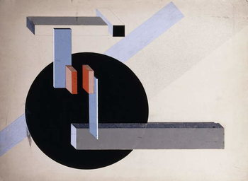 Reprodução do quadro Proun N 89 (Kilmansvaria), c.1925