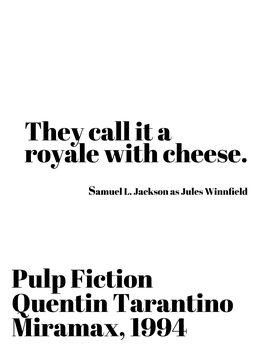Illustration Pulp Fiction 1